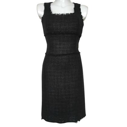 Michael Kors Abito in tweed di colore nero
