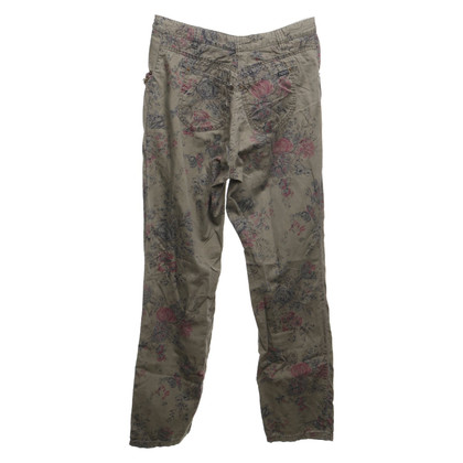 Maison Scotch trousers with print