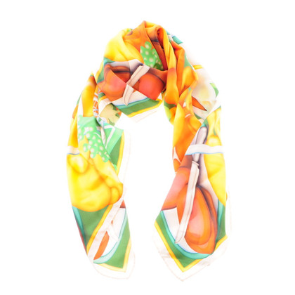 Other Designer Colorful silk scarf