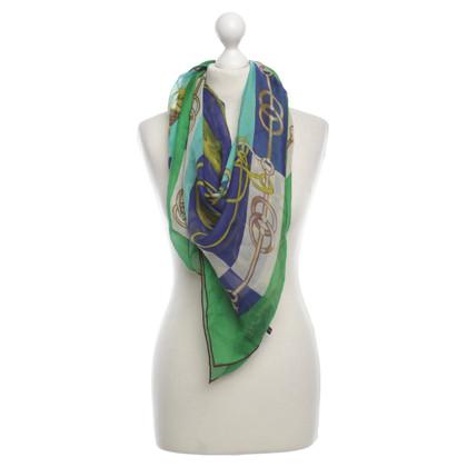 Hermès Silk scarf print