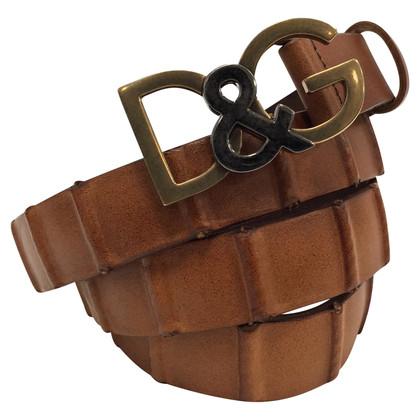 Dolce & Gabbana Brown cintura sottile