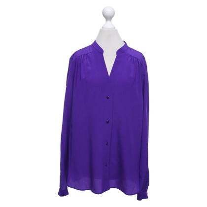 Diane von Furstenberg Zijden blouse in paars