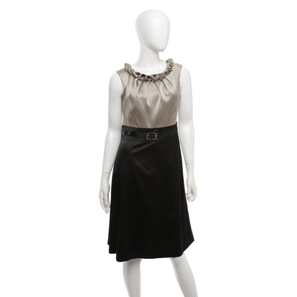 Karen Millen Dress in gray beige / black
