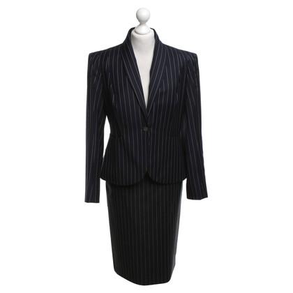 Vivienne Westwood Costume à fines rayures