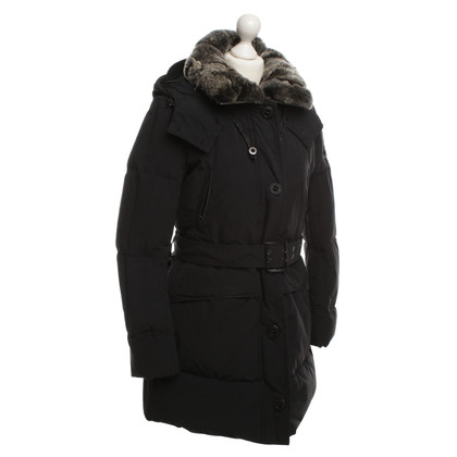 Peuterey Down coat with fur collar