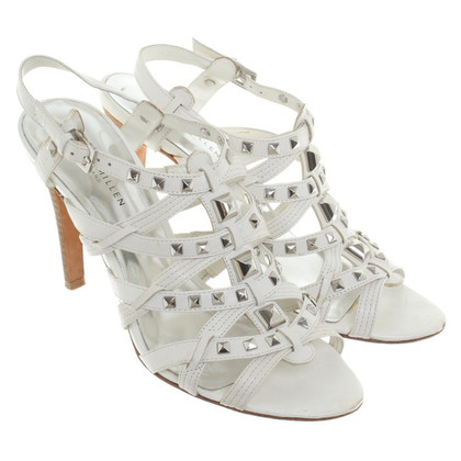 Karen Millen Sandals in white