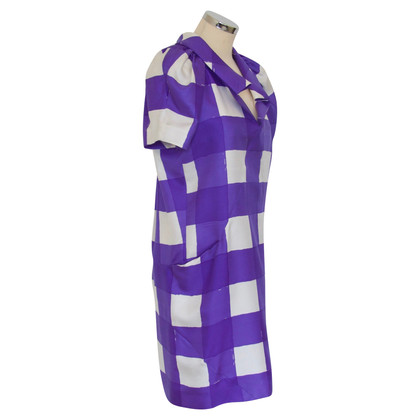 Balenciaga Dress in Purple / White