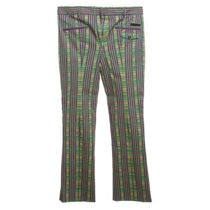 Prada Pants with colorful pattern