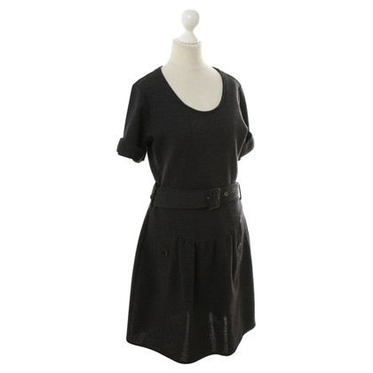Burberry Wool Dress dark grey