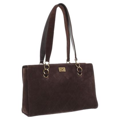 Chanel Handtasche aus Wildleder