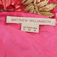 Matthew Williamson Rock mit Applikationen