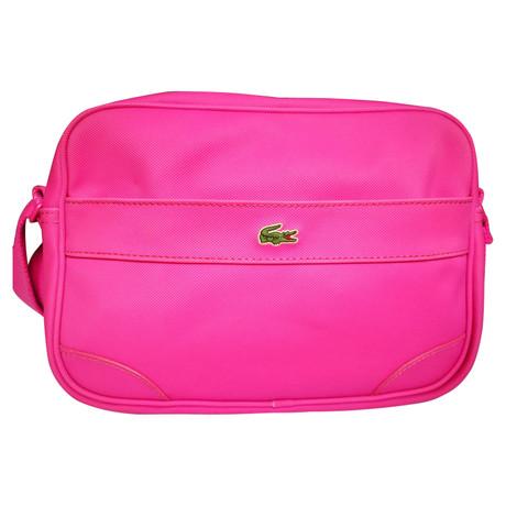 Lacoste Täschchen in Pink Rosa / Pink Gute Qualität Um Online-Verkauf Austritt Ansicht Limitierte Auflage Online-Verkauf R3SoCJP5M
