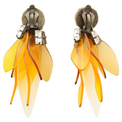 Marni for H&M Clip earrings with gemstone trim