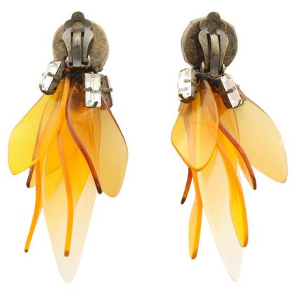 Marni for H&M Boucles d'oreilles clips avec garniture de pierres précieuses