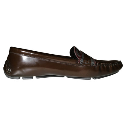 Prada Loafer in Braun