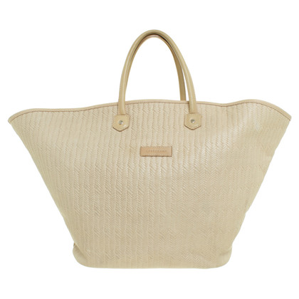 Longchamp Shopper in Flecht-Optik