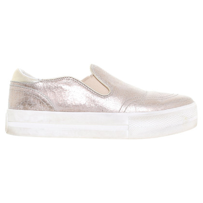 Ash Slipper in Metallic-Goldfarben