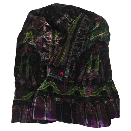 Etro Zijde fluweel sjaal