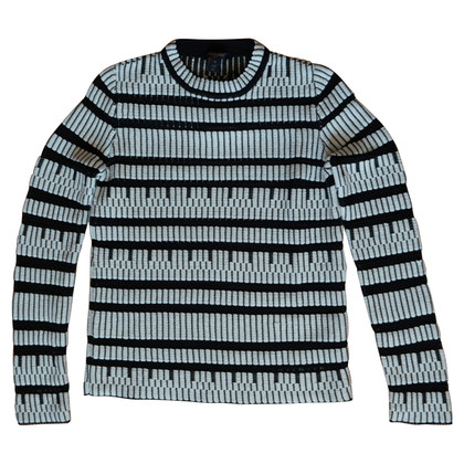 Louis Vuitton Sweater in black and white