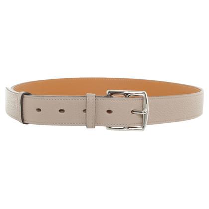 Hermès Belt in taupe