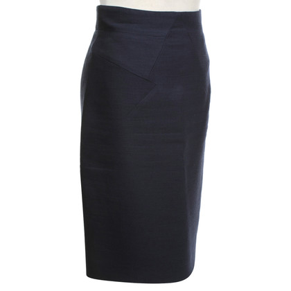 Versace Pencil skirt in blue