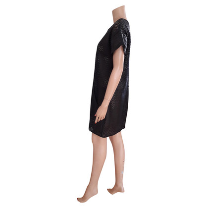 Escada Leather dress with cut outs