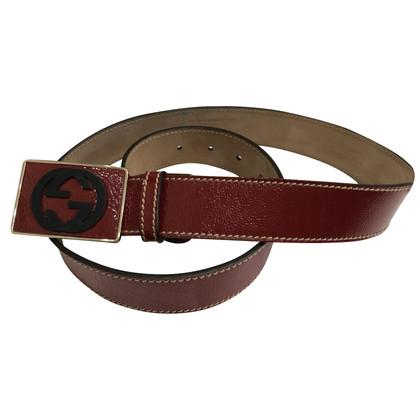 Gucci Cintura con fibbia logo