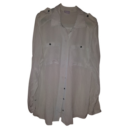 Lala Berlin Pastel colored silk blouse