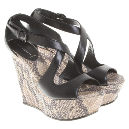 Casadei Leather wedges