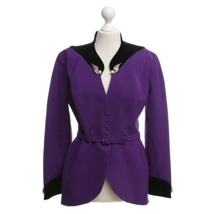 Mugler Blazer in Purple