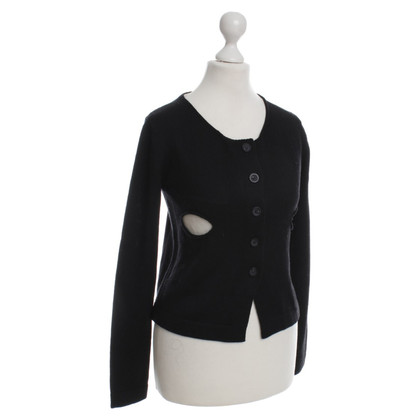Twin-Set Simona Barbieri Cardigan nero/bianco