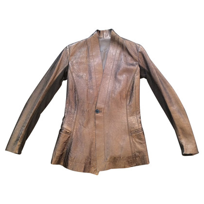 Rick Owens leather blazer