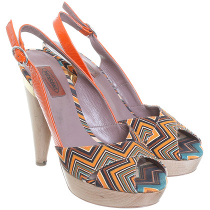 Missoni Patroon Peeptoes