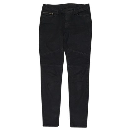 All Saints Black Biker Jeans