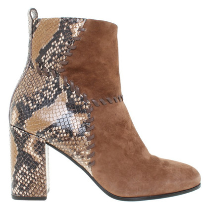Kennel & Schmenger Ankle boots with reptile embossing