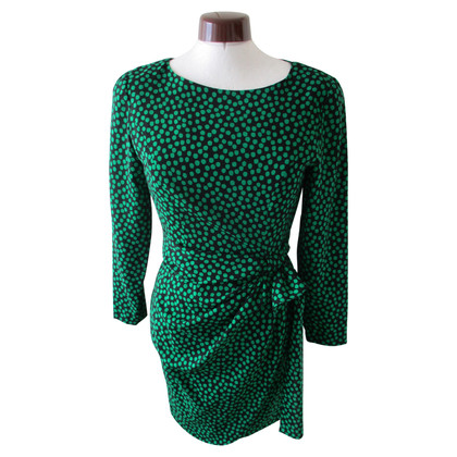 Guy Laroche Guy Laroche zwart-groene jurk