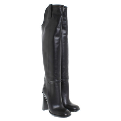 Gucci Overknee-Stiefel aus Leder