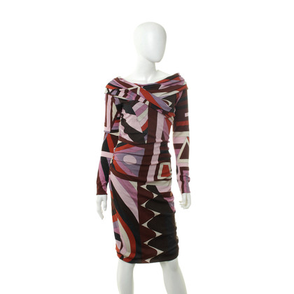 Emilio Pucci Dress with graphic patterns