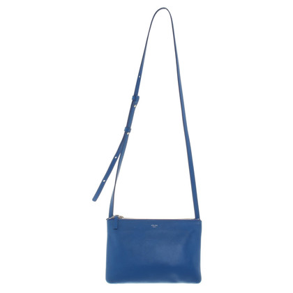 "Céline ""Trio Bag"" in blauw"
