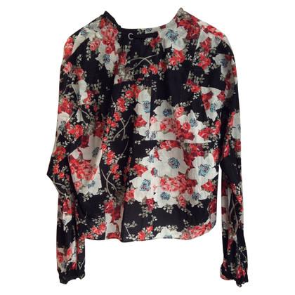 Rag & Bone Blouse avec un motif floral