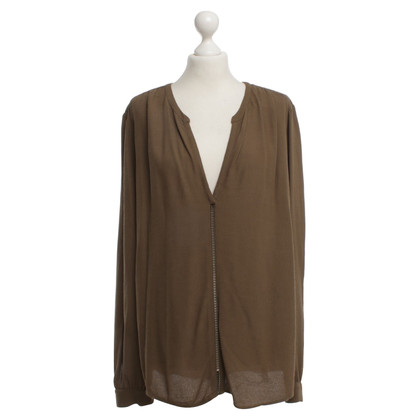 Michael Kors Bluse in Oliv