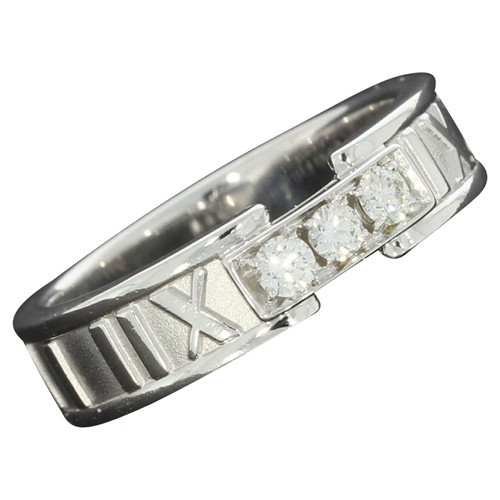 ef51469dd3b Tiffany   Co. White gold ring in gold - Second Hand Tiffany   Co ...