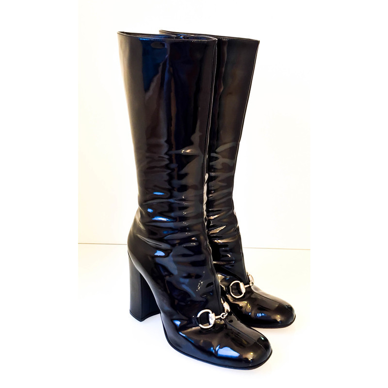 Gucci Boots patent leather