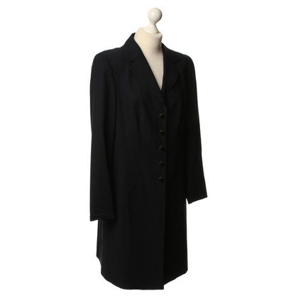 Escada Coat in dark blue