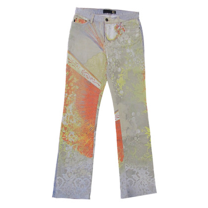 Just Cavalli Oost-Printing paarden jeans