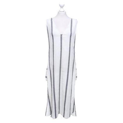 ViX Paula Hermanny Beach dress with stripe pattern