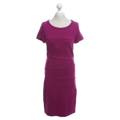 Diane von Furstenberg Jersey jurk in fuchsia
