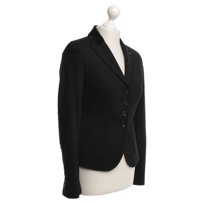 Blonde No8 Blazer in Dark Blue