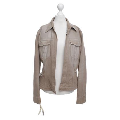 Dolce & Gabbana giacca Jean in beige