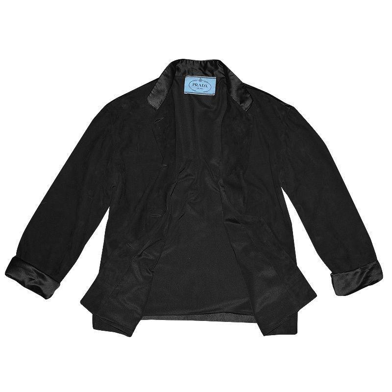 Prada Black Pant suit